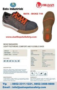 JUAL Sepatu Safety Shoes BATA BICKZ 740 MURAH di balikpapan