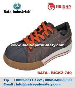 Sepatu Safety Shoes BATA BICKZ 740