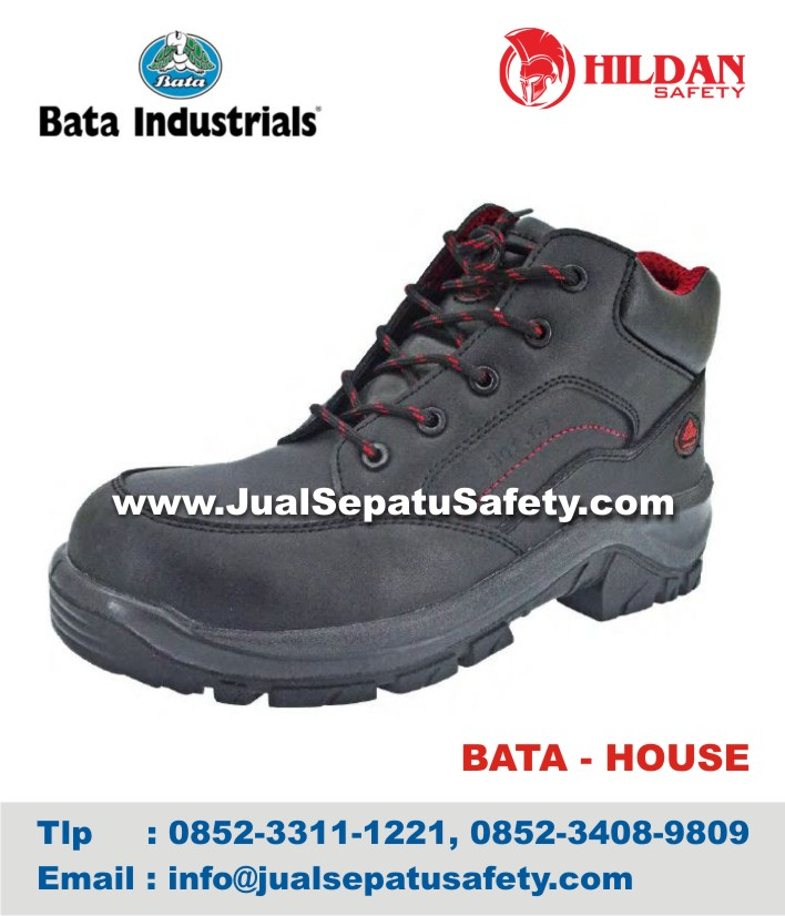 Sepatu Safety Shoes BATA HOUSE