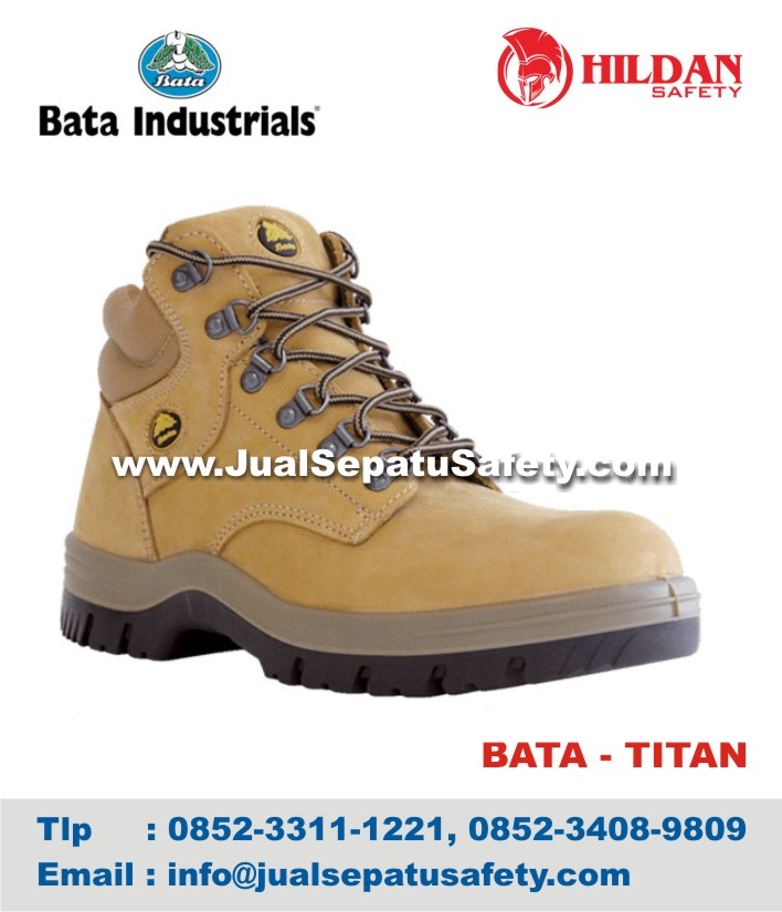 Jual Sepatu Safety BATA TITAN Murah Pabrik SEPATU SAFETY