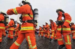 Simulasi Pemadam Kebakaran