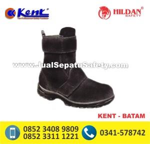 KENT BATAM,Sepatu Safety Tinggi Tanpa Tali Murah