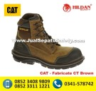 CAT Fabricate CT Brown, Jual Sepatu CATERPILLAR BOOTS ORIGINAL Makassar