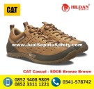 CAT Casual EDGE Bronze Brown, CATERPILLAR SHOES Surabaya