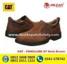 CAT CONCLUDE ST Dark Brown – Katalog Sepatu CATERPILLAR TERBARU