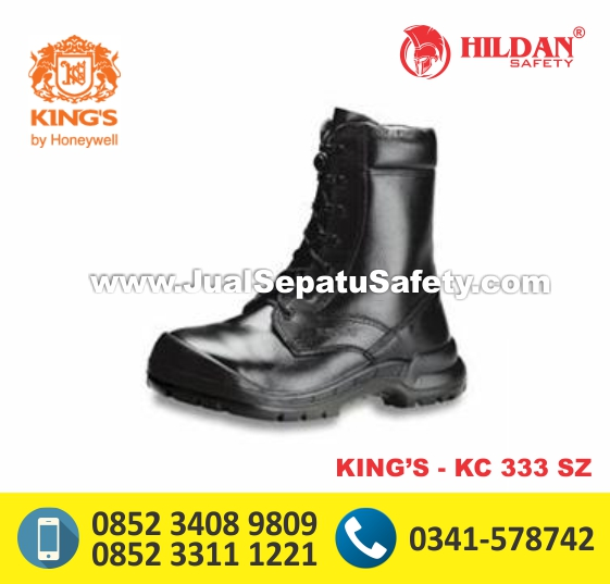 KING'S KC 333 SZ,Safety Shoes Tinggi Bertali Anti Air