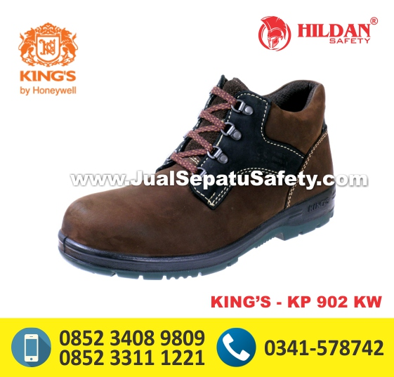 KING'S KP 902 KW,Sepatu Safety Bertali Anti Licin