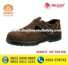 KP 909 KW – Sepatu Safety Warna Coklat Murah Pendek