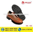 HS-102, Jual Sepatu Safety Pendek Warna Coklat