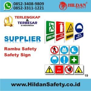 19 Rambu Safety