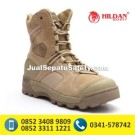 Hanagal Warrior Boots 8″ ORI – Desert, Sepatu Army Import