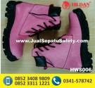 HWS 006 – sepatu boot kulit wanita