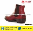 HWS 005 – Sepatu Boots Wanita Bahan Kulit