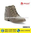 HWS 016 – Jual Sepatu Boots Wanita Kulit Online