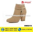 HWS 019 – Sepatu Boots Wanita Handmade