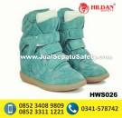 HWS 026 – Grosir Sepatu Boots Wanita