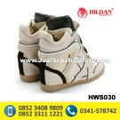 HWS 030 – Sepatu Boots Wanita Kulit Handmade