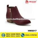 HWS 017 – Toko Sepatu Boots Kulit Wanita
