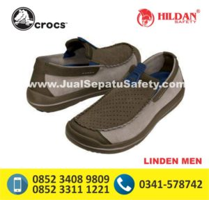 crocs linden men navy