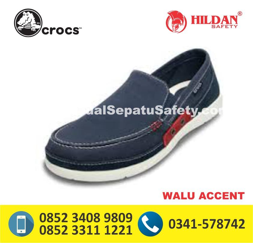 crocs walu accent navy