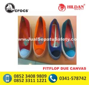 fitflop due canvas