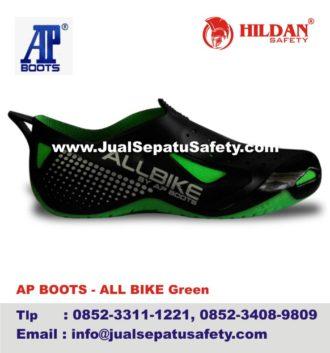 JUAL GROSIR Sepatu All Bike GREEN AP BOOTS  0f21b39073