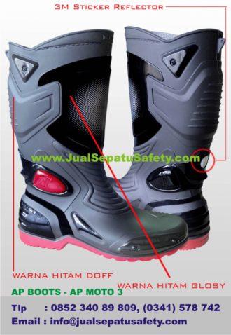 GROSIR Sepatu AP BOOTS MOTO 3 Terbaru  995dc9564b