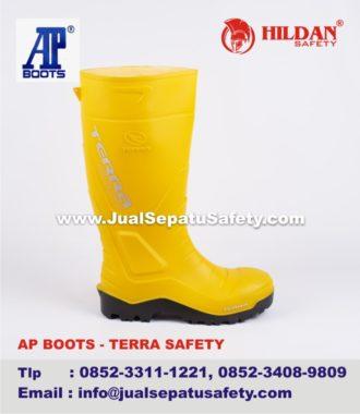 9ad4075938b Jual AP BOOTS TERRA SAFETY Yellow   JualSepatuSafety.com